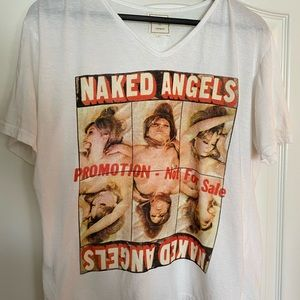 Eleven paris life is a joke naked angels shirt